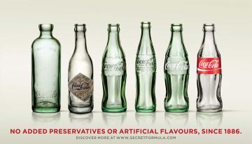 die Geschichte der Coca-Cola-Flasche