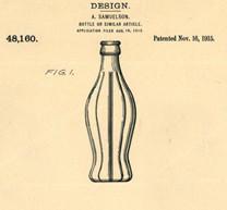 Patentzeichnung Design 1915