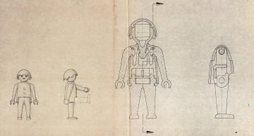Foto: Playmobil® Technische Zeichnung der Patentanmeldung
